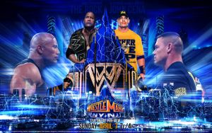 WrestleMania 29 : The Rock vs. John Cena by 2ndRules