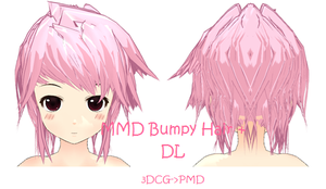 MMD: Bumpy Hair + DL by Chibi-Baka-San
