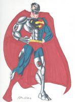 Superman- The Cyborg by RobertMacQuarrie1