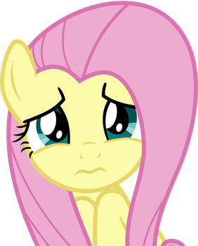 Fluttershy worried 1 by Uponia