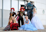 Alice in Wonderland group by Sandman-AC