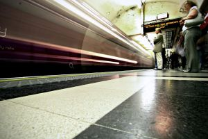 London Subway by Umbrellakid