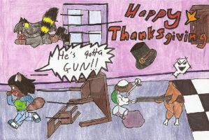 Happy Thankgiving by catqueen5