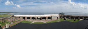 Fort Sumter Panorama by Carise