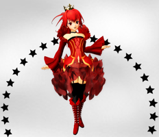 MMD CUL Royal DL by RedHoozuki