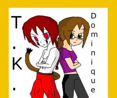 T.K and Dom by DomoDC