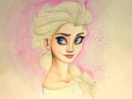 Disney's Elsa by AnnieIsabel