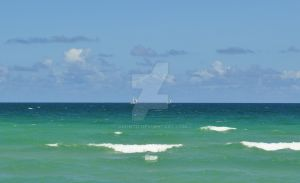 Sailboats On The Horizon by arontd
