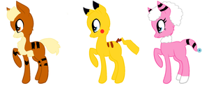 pokepony Name your price adopt~ by star4567980