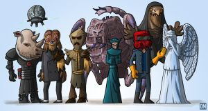 Doctor Who - Season 3 Aliens by DanielMead