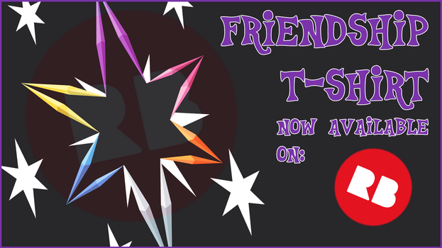 Friendship T-Shirt by TertonDA