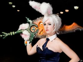 Battle Bunny Riven Cosplay by SNTP