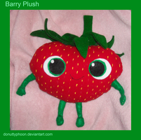 Barry Plush by DonutTyphoon