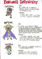 Bakura's Definitions by Mahersal