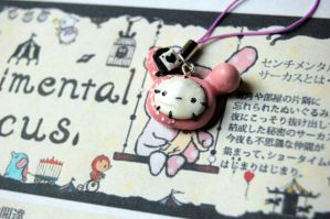 Sentimental Circus Shappo Charm by FatCatCharms