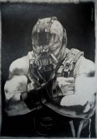 Bane Batman by Leanna7117