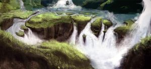 The White Falls by Cmpkittykat