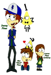.:. Danny And His Little Twins .:. by Rise-Of-Majora