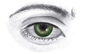 green eyes by 8Bpencil
