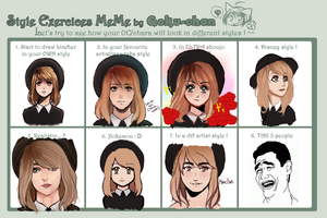 Style Exercise Meme by P-u-f-t