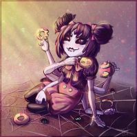 Muffet from Undertale by RedCorpse-Dezzer