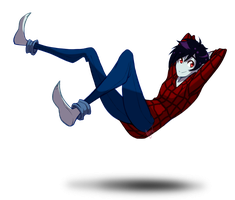 SPEEDPAINT Marshall Lee Redraw by FrostedAlibi