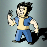 Vault Boy Wolverine Colored by KingVego