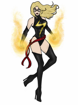 Ms. Marvel by vindications