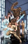 A new hope star wars coloured by jacksongee