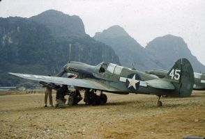 Curtiss P-40N On The BattleFront by StephenBarlow