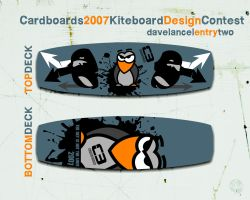 Cardboards Contest Entry Two by davelancel