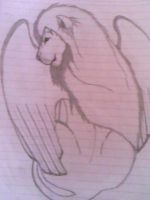 Winged Lion by Arcee327