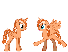 Two Annas by QueenOfRandomness101