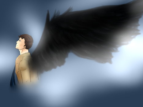 Castiel by Chipupull