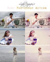 Ruby Photoshop Action by LadyNguyen