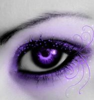Amethyst Eye by seledrian
