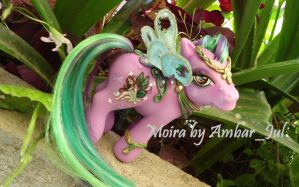 My little pony custom Moira Fairy by AmbarJulieta