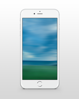 Ocean-Lanscape Wallpaper for iPhone 6 and 6 Plus by kiwimanjaro