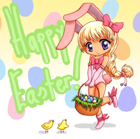 Happy Easter! by Charlikesmudkips
