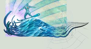 concept surfer by arf