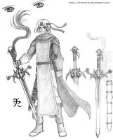 Shining Force's leader by Theoryra