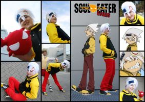 Soul Eater Evans FTW by RainOwls