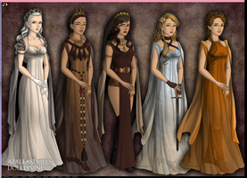 Human Pridelands Queens by A-X317