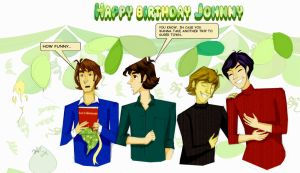 Happy Birthday Johnny by Orchideacae