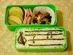 Musical Bento by mindfire3927