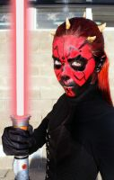 Darth Maul (rule 63) by FlorBcosplay