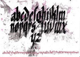 Calligraphy 3 by SoldatSan