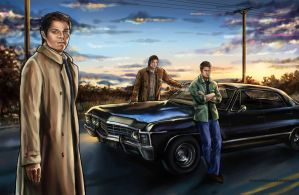 Supernatural by SUPERNEOON