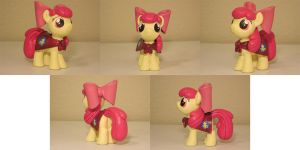 Apple Bloom CMC Custom Sculpt Commission 2 by Blackout-Comix