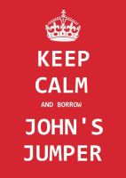 Johnlock - Keep calm by Hyper-Baka-Girl